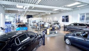 Peugeot Kolding indenfor